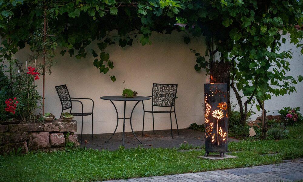 Feuersäule Garten