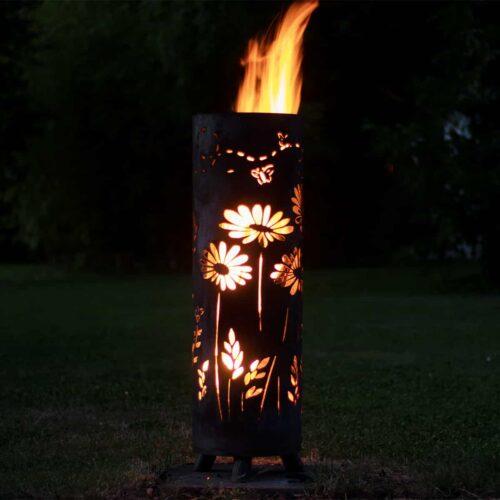 blumefeuersaeulebrenntvorne