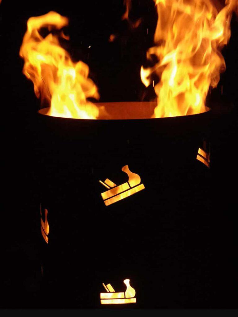 Feuersäule individuell