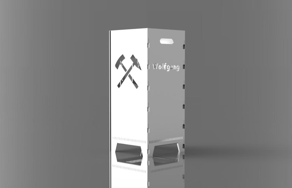Feuerkorb personalisiert